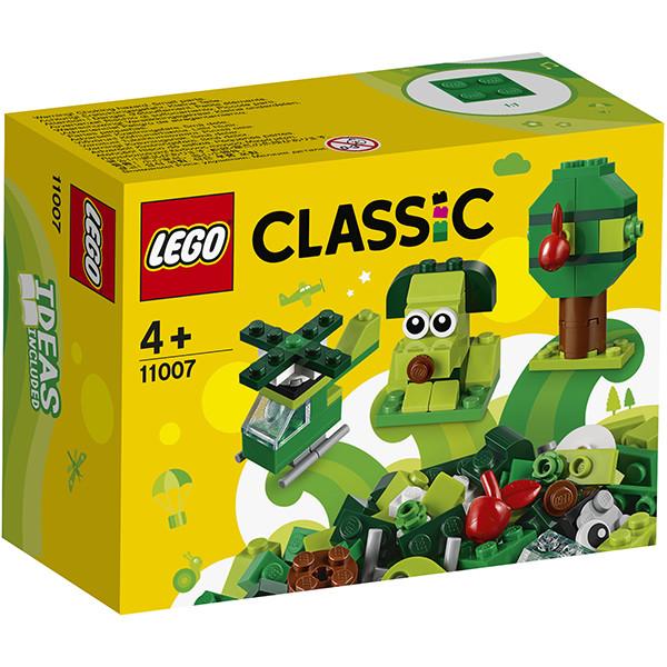 LEGO Classic 11007 Зеленый набор для конструирования, конструктор ЛЕГО - фото 2