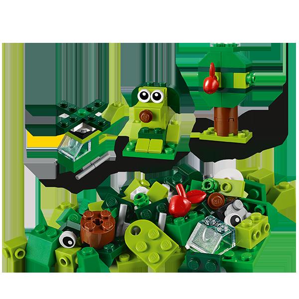LEGO Classic 11007 Зеленый набор для конструирования, конструктор ЛЕГО - фото 3