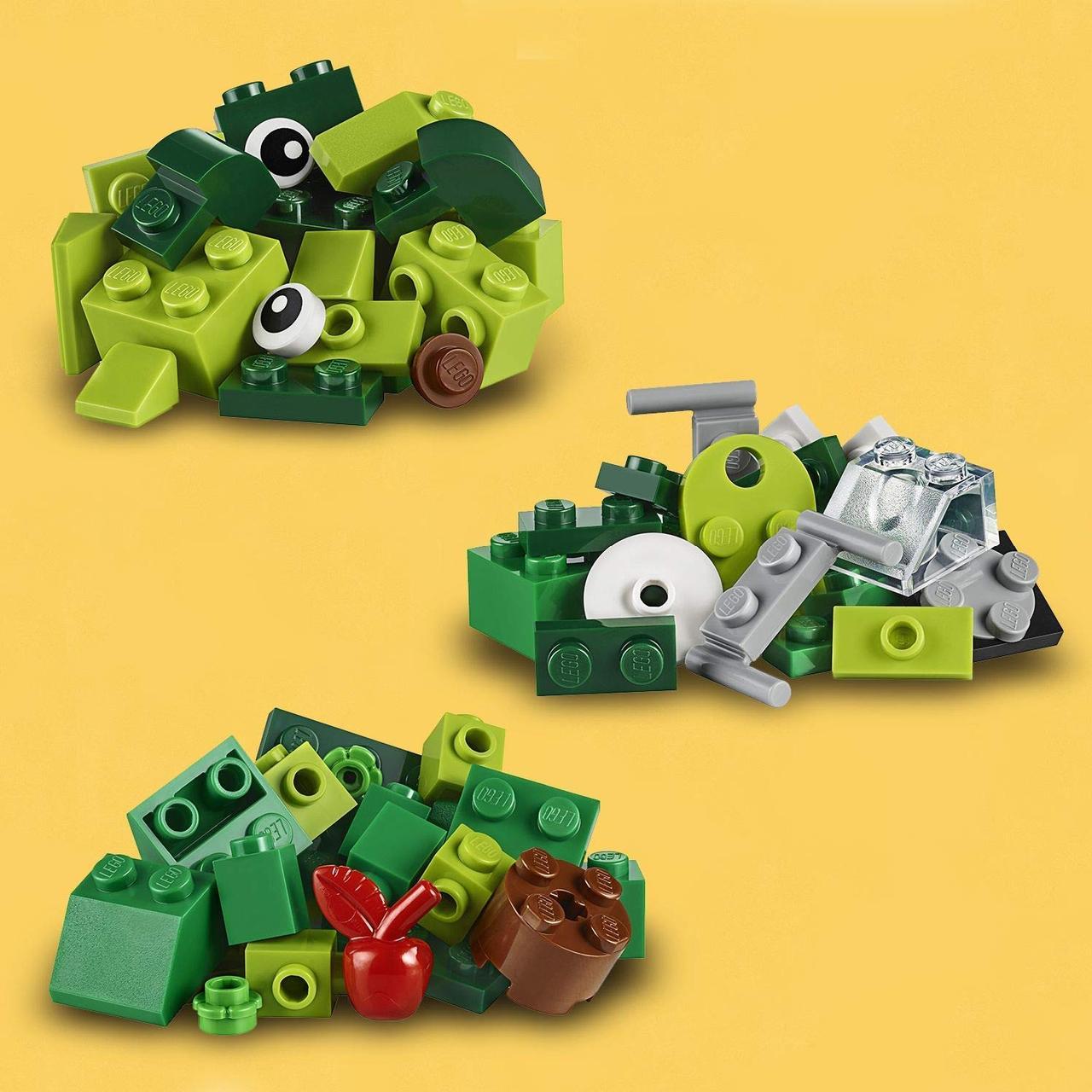 LEGO Classic 11007 Зеленый набор для конструирования, конструктор ЛЕГО - фото 4