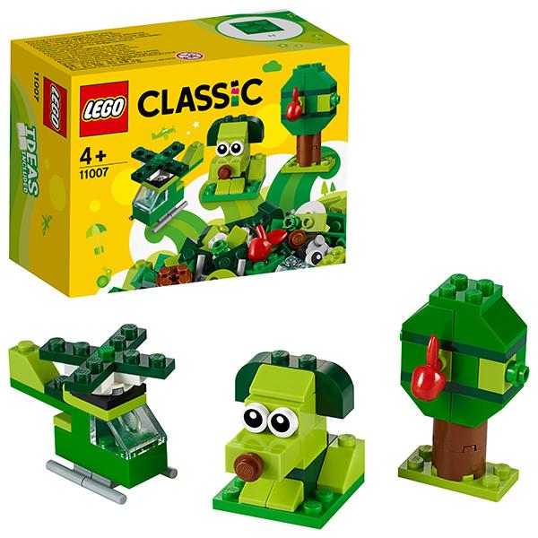 LEGO Classic 11007 Зеленый набор для конструирования, конструктор ЛЕГО - фото 5