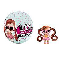 Кукла L.O.L. Surprise Hairvibes с 15 сюрпризами и сменными париками