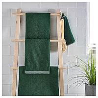 ВИКФЬЕРД Банное полотенце, зеленый, 70x140 см