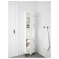 СИЛВЕРОН Шкаф высокий,2дверный, белый, 40x25x172 см, фото 1