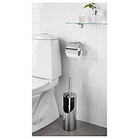 КАЛЬКГРУНД Щетка для туалета/держатель, хромированный, фото 1
