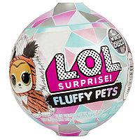 Кукла L.O.L. Surprise Fluffy Pets Пушистый питомец Зимнее Диско