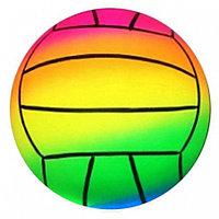 Мяч Волейбол радужный, 22см в пак.1872703