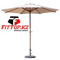 Зонт уличный летний с подставкой (d=2.7м)