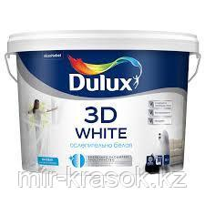 Краска Dulux 3D WHITE матовая BW 10л