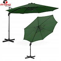 Зонт уличный круглый Relax (D-3м), Зеленный