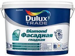 Краска Dulux Trade DIAMOND ФАСАДНАЯ ГЛАДКАЯ матовая BW 10л