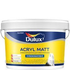 Краска Dulux ACRYL MATT глубокоматовая BW 9л