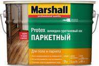 Лак Marshall PROTEX ПАРКЕТНЫЙ матовый 9л