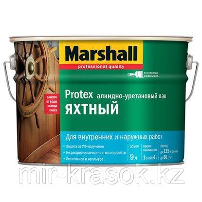Лак Marshall PROTEX ЯХТНЫЙ полуматовый 9л