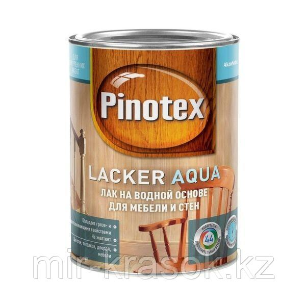 Лак Pinotex LACKER AQUA 10 матовый на вод. основе 2,7л