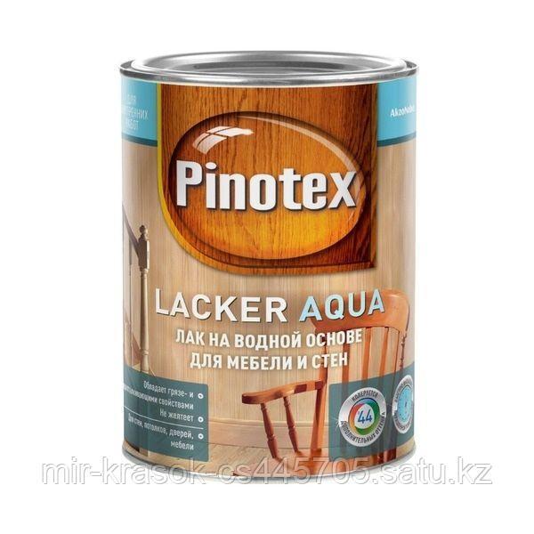 Лак Pinotex LACKER AQUA 70 глянцевый на вод. основе 2,7л