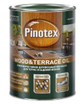 Масло Pinotex WOOD&TERRACE OIL Бесцветный (также база под колеровку) 2,7л