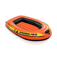 Лодка надувная INTEX Exlorer PRO 50 6+ 58354NP (137х85см, Винил, Трёхкамерная)