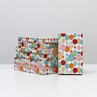 Набор коробок 4 в 1 'Бумажные фонарики', 30 х 20 х 8 - 24 х 14 х 5 см