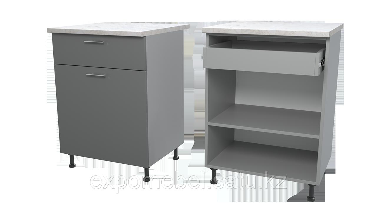 Шкаф с полкой и одним ящиком 600 (Нижний модуль)