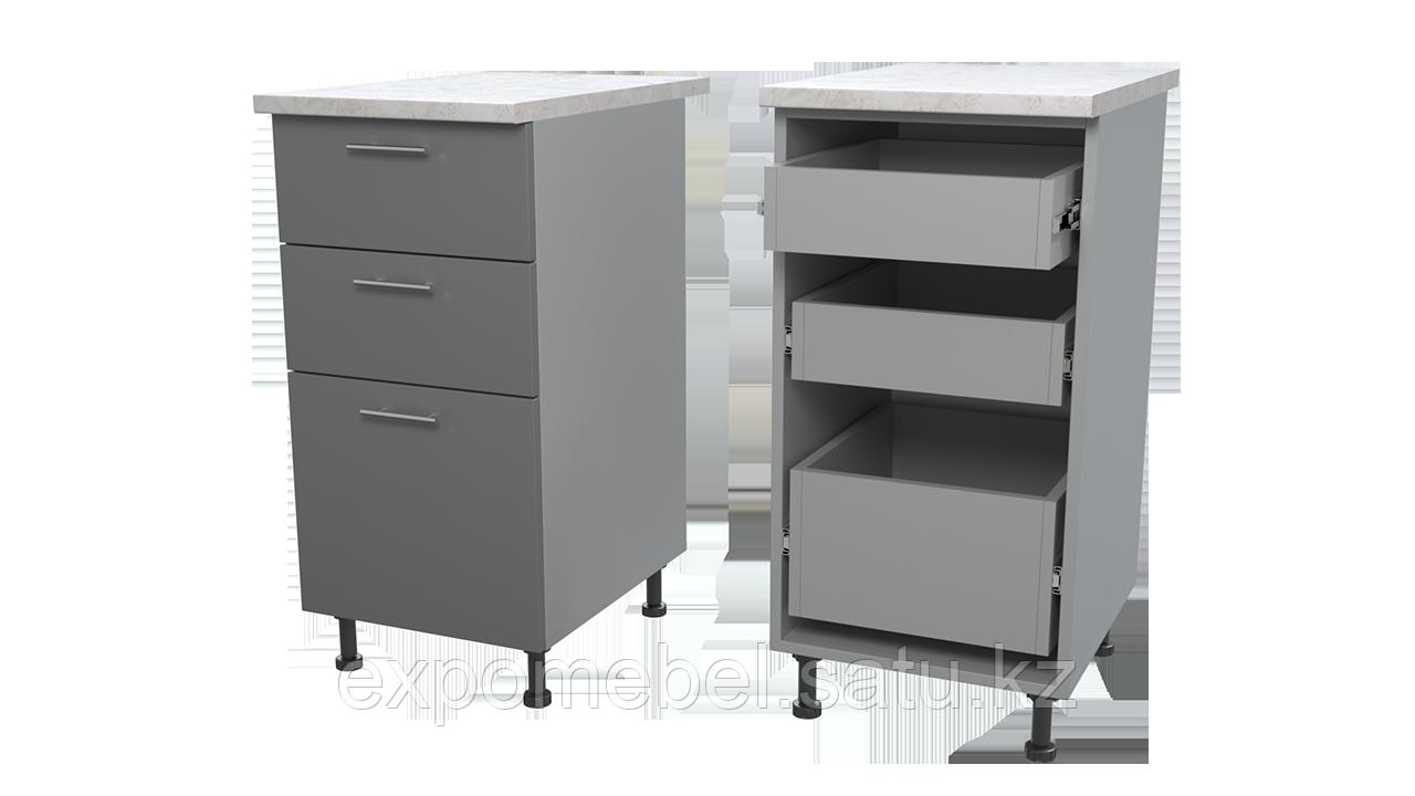 Шкаф с тремя ящиками 400 (Нижний модуль)
