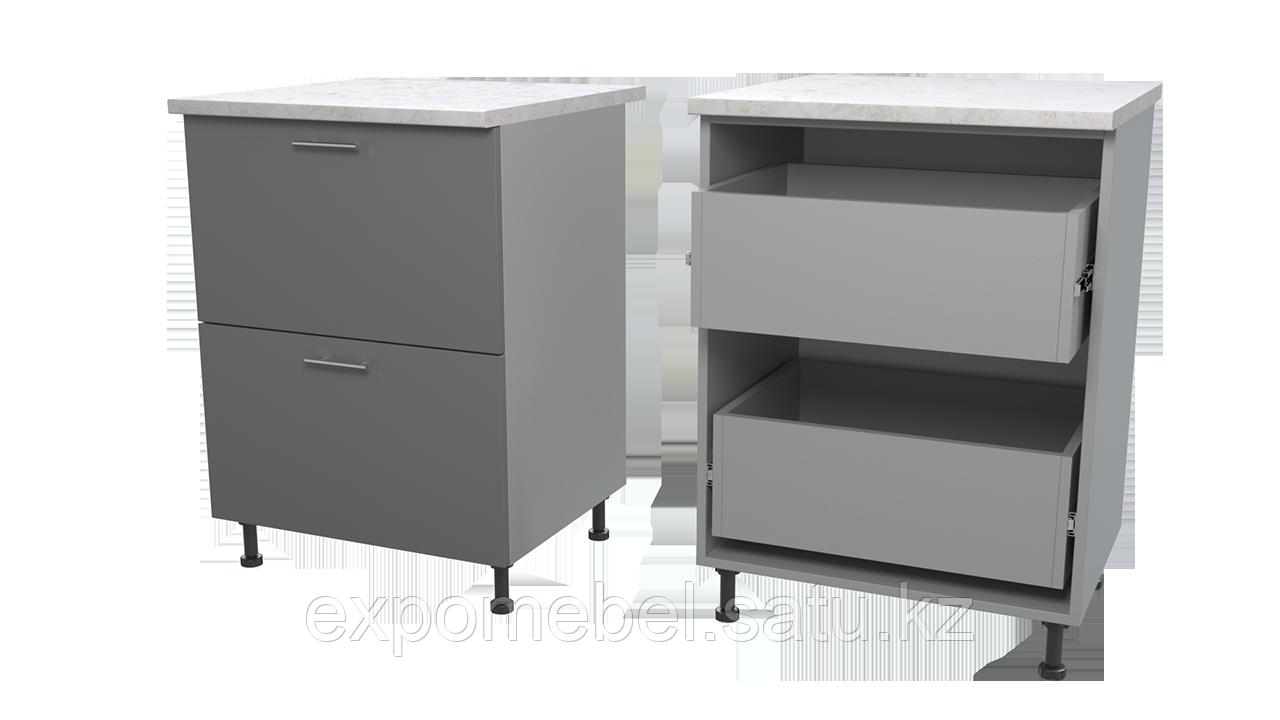 Шкаф с двумя ящиками 600 (Нижний модуль)