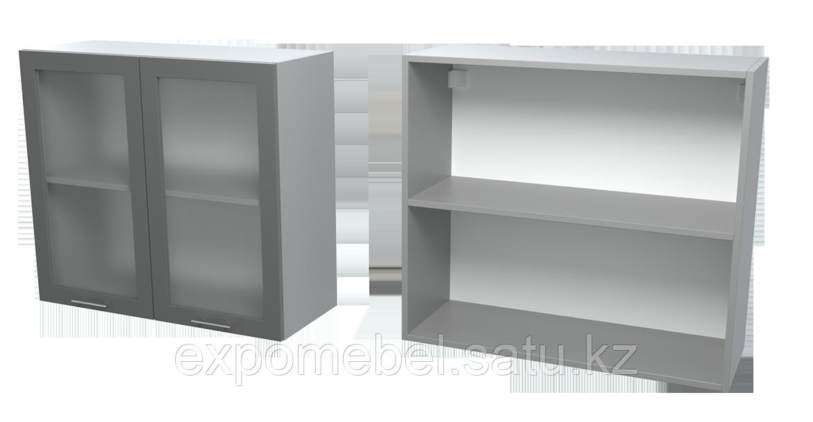Шкаф с полкой и стеклом 800 (Верхний модуль)