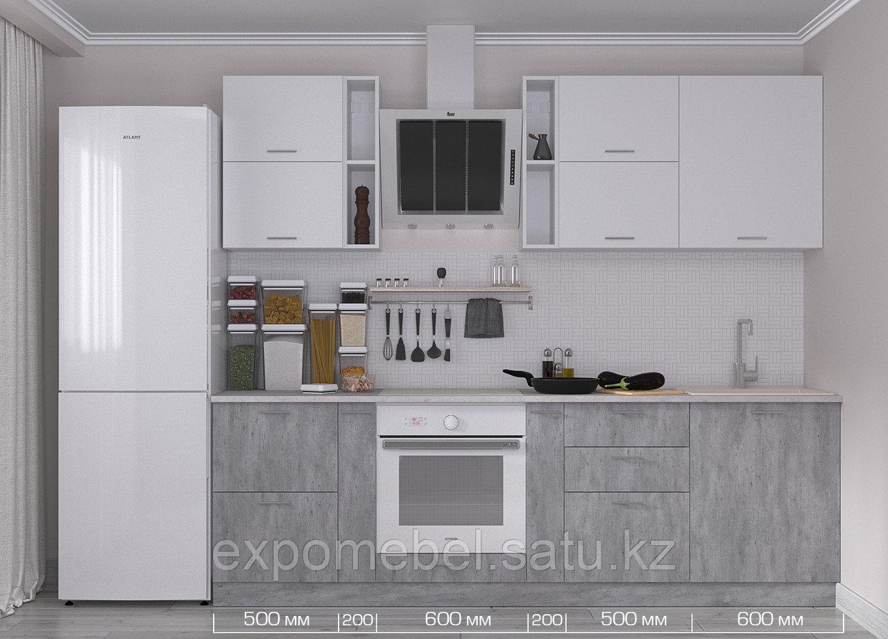 Кухня Бетон 2