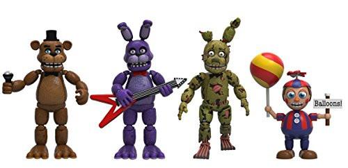 Five Nights at Freddy's Набор из 4 виниловых фигурок (Set 2)