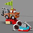 10924 Lego Duplo Гонки Молнии МакКуина, Лего Дупло, фото 5