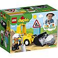 10930 Lego Duplo Бульдозер, Лего Дупло, фото 2