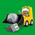 10930 Lego Duplo Бульдозер, Лего Дупло, фото 6