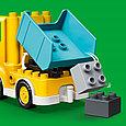 10931 Lego Duplo Грузовик и гусеничный экскаватор, Лего Дупло, фото 4