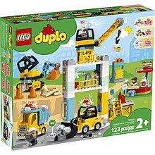 10933 Lego Duplo Башенный кран на стройке, Лего Дупло