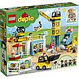 10933 Lego Duplo Башенный кран на стройке, Лего Дупло, фото 2