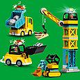 10933 Lego Duplo Башенный кран на стройке, Лего Дупло, фото 4