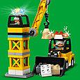 10933 Lego Duplo Башенный кран на стройке, Лего Дупло, фото 5
