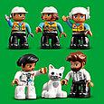 10933 Lego Duplo Башенный кран на стройке, Лего Дупло, фото 6