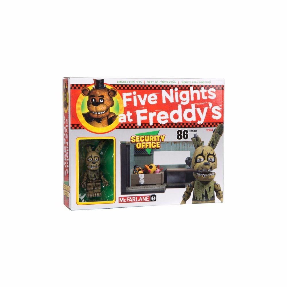 "Five Nights at Freddy's Конструктор ""Комната охраны"" 86 детали"