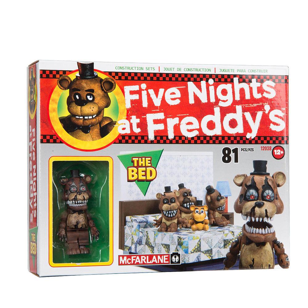 """Five Nights at Freddy's Конструктор """"Кровать"""" 81 детали"""