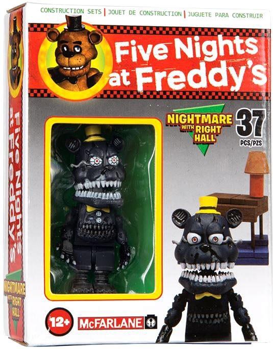 Five Nights at Freddy's Конструктор Nightmare 37 деталей