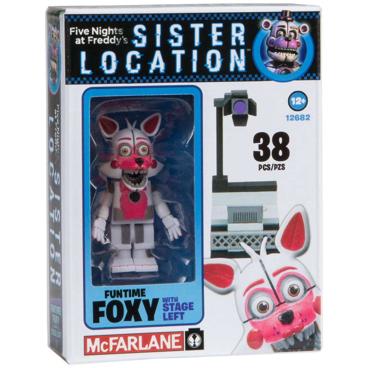 Five Nights at Freddy's Sister Location Конструктор Funtime Foxy 38 деталей