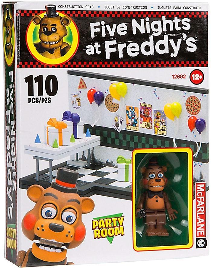 "Five Nights at Freddy's Конструктор ""Комната для вечеринок"" 110 деталей"