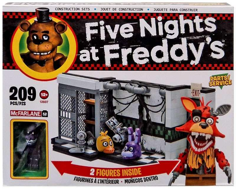 "Five Nights at Freddy's Конструктор ""Мастерская"" 209 деталей"