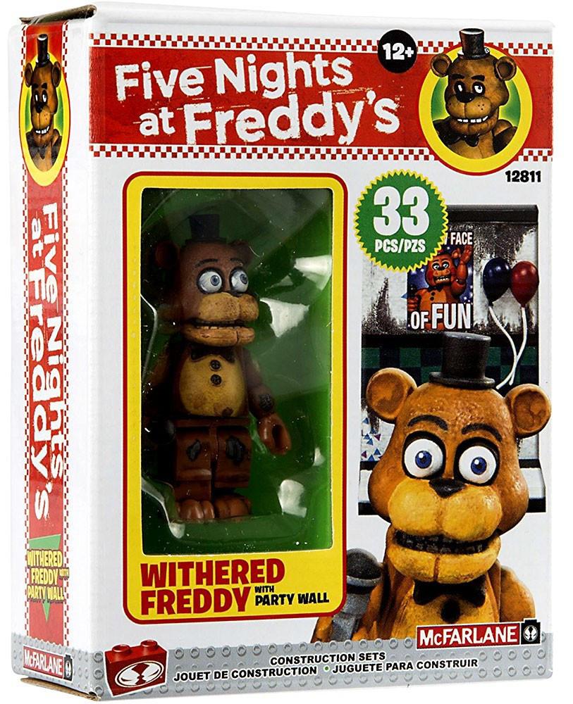 Five Nights at Freddy's Конструктор Минифигурка Фредди 33 детали