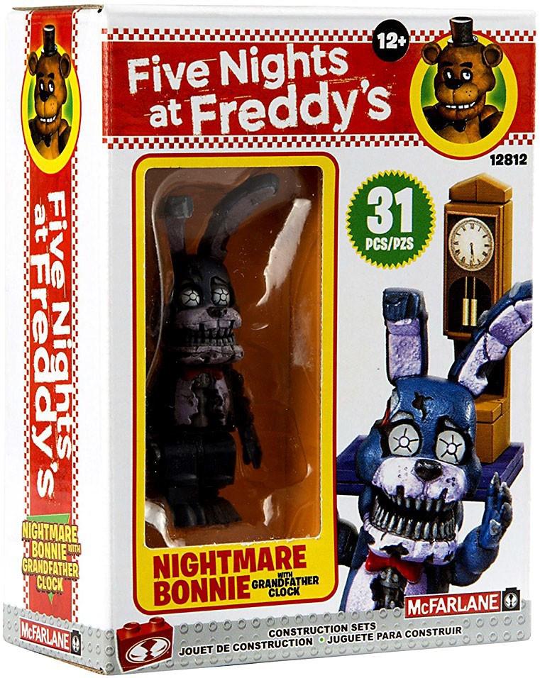 Five Nights at Freddy's Конструктор Минифигурка Кошмарный Бонни, 31 деталь