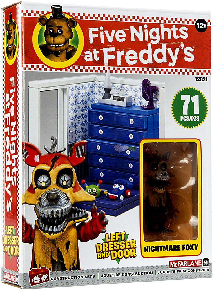 "Five Nights at Freddy's Конструктор ""Шкаф и дверь слева"" 71 детали"