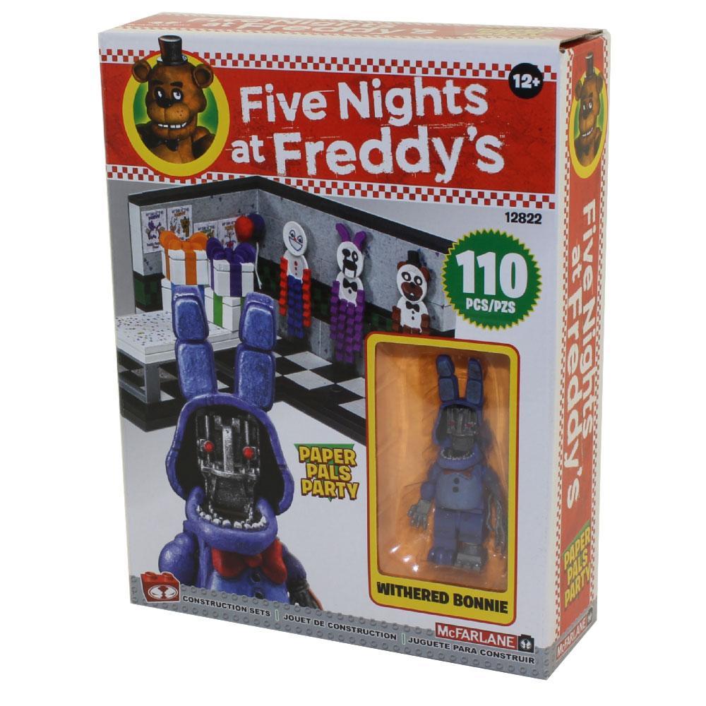 """Five Nights at Freddy's Конструктор """"Вечеринка бумажных друзей"""" 110 деталей"""