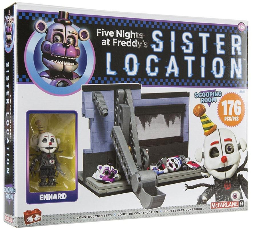"Five Nights at Freddy's Sister Location Конструктор ""Scooping room"" 176 деталей"