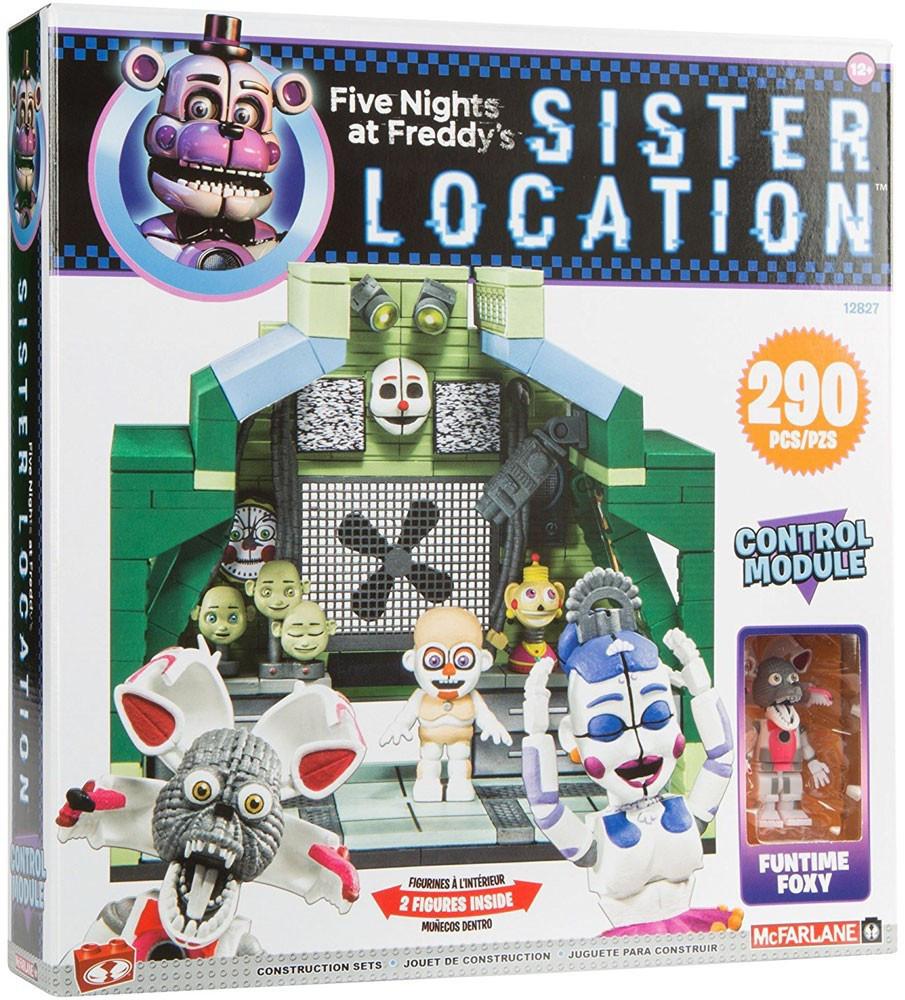 "Five Nights at Freddy's Sister Location Конструктор ""Комната управления"" 290 деталей"