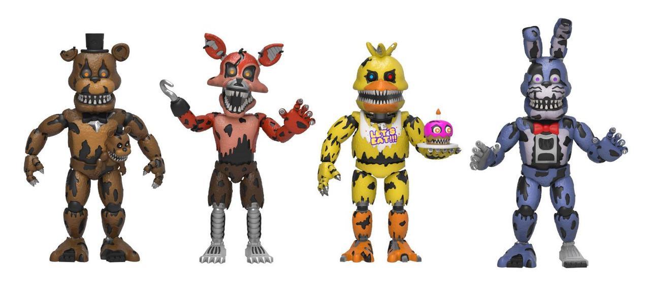 Five Nights at Freddy's Набор из 4 виниловых фигурок (Set 3)